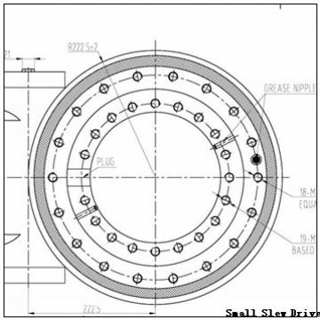 Four Point Contact Feature Non geared Gear Options Slewing Bearing