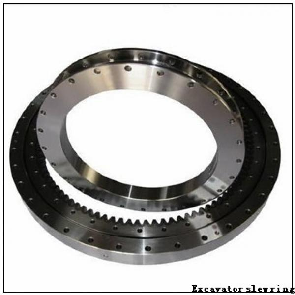 Single Row Four Point Contact Ball Slewing Bearing for Tower Crane Machine #1 image